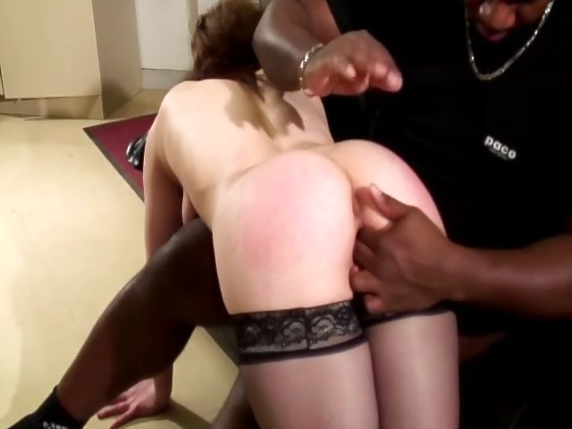 Porno Video of Redhead Is Being Cast And Deep Throats Black Wood And Gets Fucked