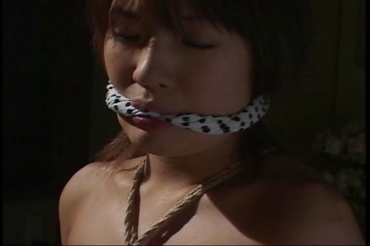 Porn Tube of Busty Asian Babe Is Tied Up In Different Positions In Bdsm Clip