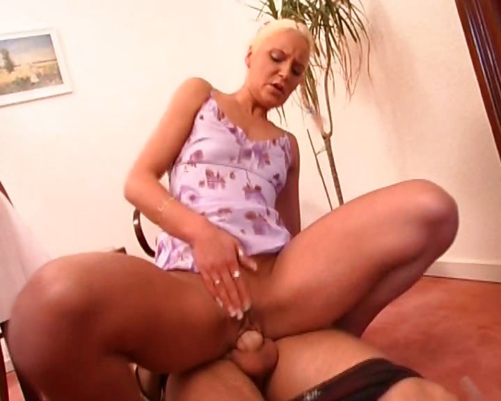 Porno Video of A German Whore In Tiny Braids Blows And Fucks An Older Man