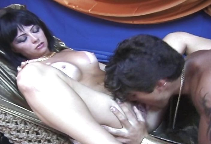 Porno Video of Hot Brazilian Babe Roleplaying As A Slutty Egyptian Mistress