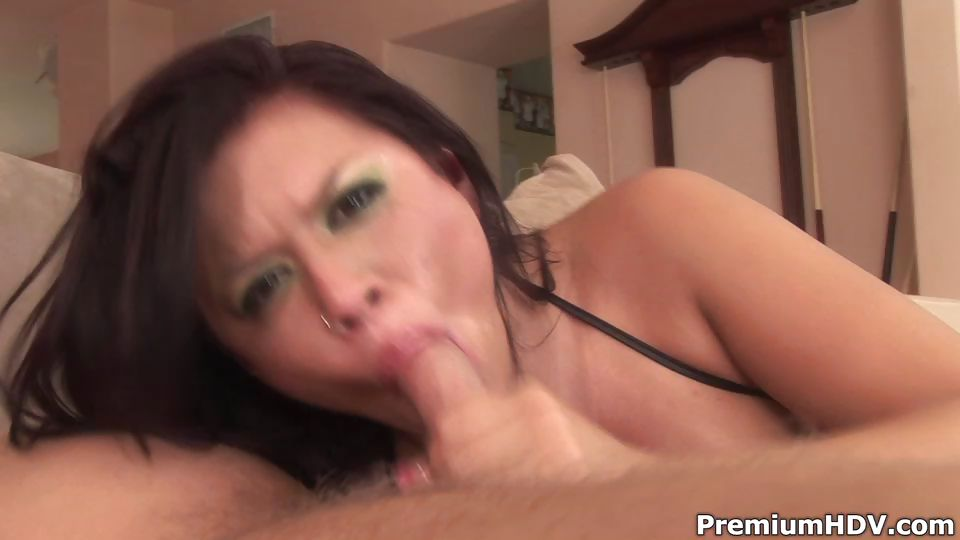 Porno Video of Big Meat Swallowing Eva Angelina