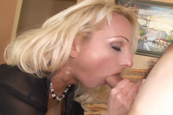 Porn Tube of Sexy Mature Blonde Lady With A Nice Perky Rack Gets Nailed In The Ass