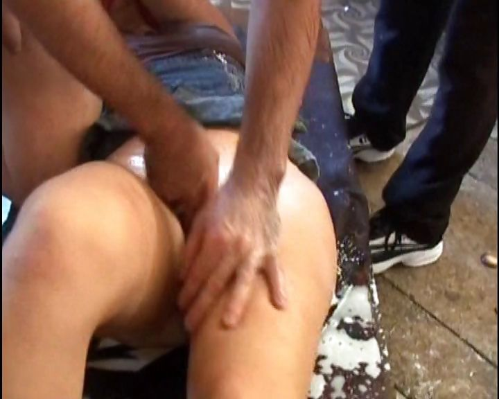 Porno Video of Horny Spanish Slut Gets Tied Down And Banged In The Kitchen