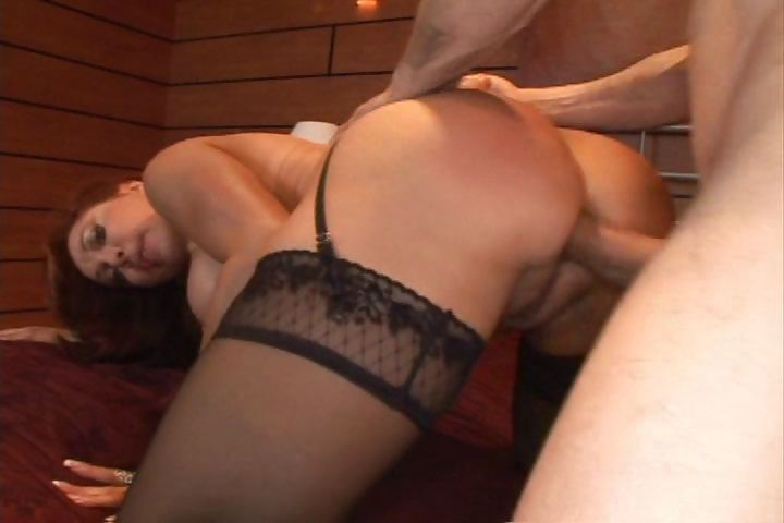 Porno Video of Busty Mature Redhead With Huge Melons Swallows His Old Cock And Gets Ass Fucked