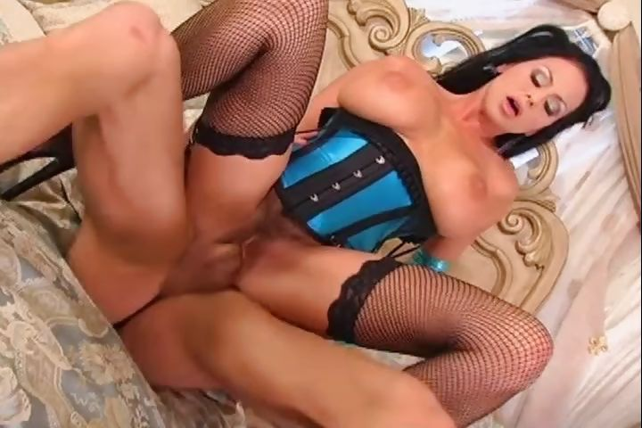 Porno Video of Hot Busty Brunette In Lingerie Trades Head And Gets Ass Fucked With A Creampie