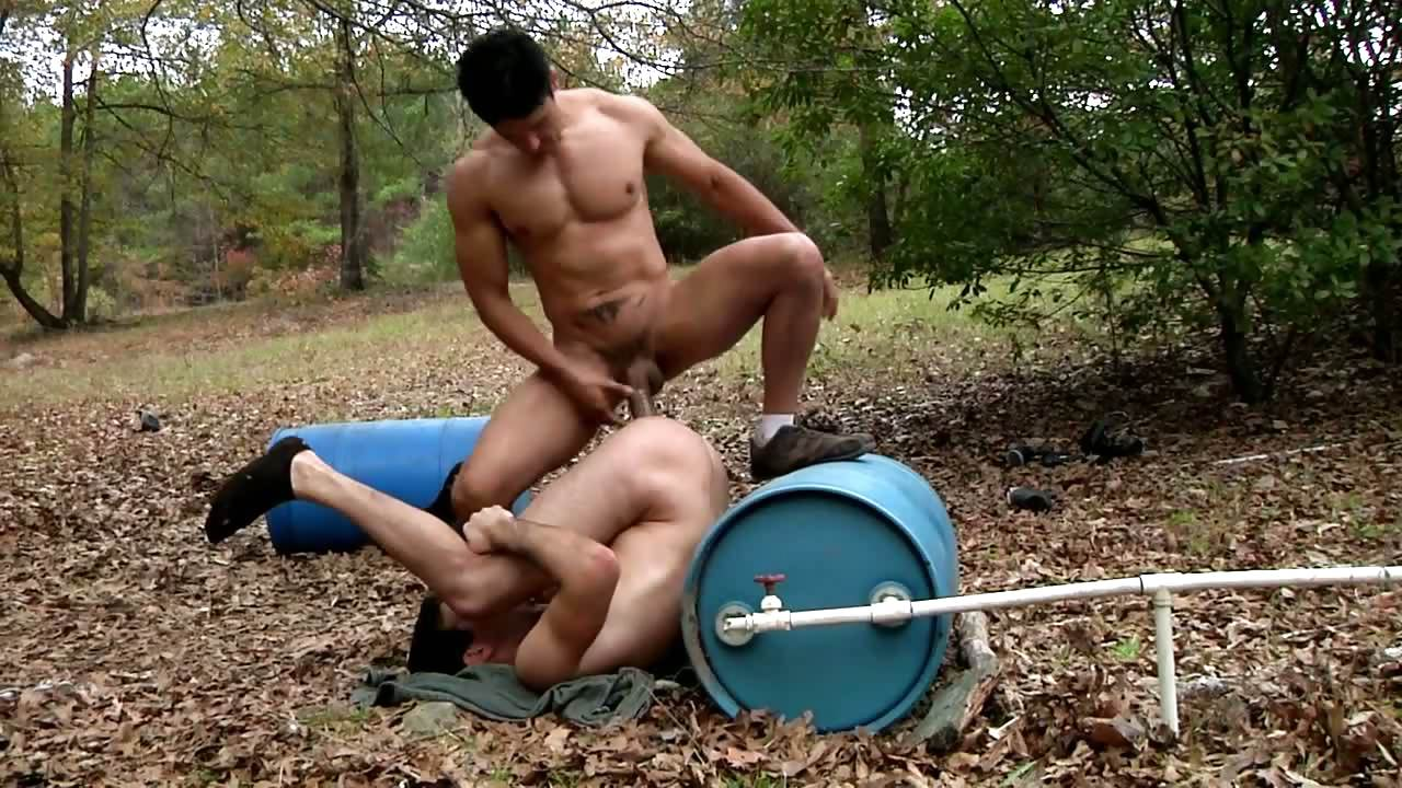Porno Video of Paintball Dmh - Rafael Alencar - Leon Knight