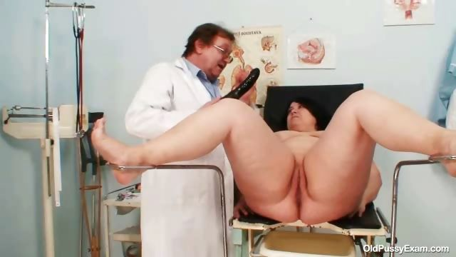 Porno Video of Big Tits Fat Mom Rosana Gyno Doctor Examination
